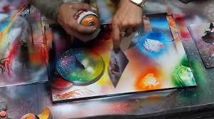Spray Paint Artist - amazing spray paint artist from new york city video dailymotion