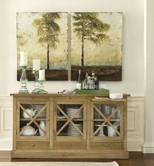 decorating a dining room buffet nature inspired dining room buffet from ballard designs dining