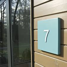 miami house number plate by kelly contemporary
