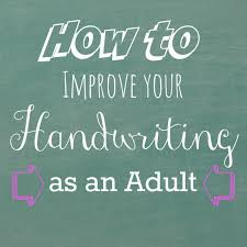 exercises to improve handwriting as an and review of fix it