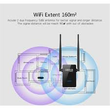 B And Q Bathroom Accessories by Amazon Com Msrm Us750 750mbps Wifi Range Extender Dual External