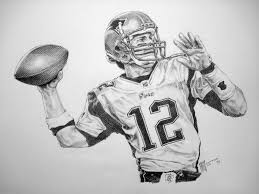 drawn log nfl player pencil and in color drawn log nfl player