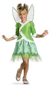 Deluxe Tinkerbell Secret Of The Wings Kids Costume Mr Costumes