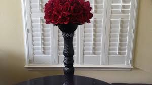 diy dollar tree red rose centerpiece diy wedding centerpiece