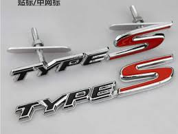 honda civic ek accessories aliexpress com buy type s grill rear badge emblem black