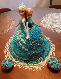 elsa u0026 anna doll cake frozen birthday party frozen party