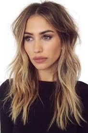 collarbone length wavy hair fun haircuts layered long lovehairstylesco stylish http