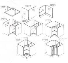 how to install lazy susan cabinet cabinet sense ready to assemble cabinets rta cabinets