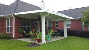 metal aluminum patio covers offer protection and durability