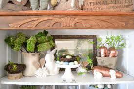spring home decor adding spring to the new hutch my creative days