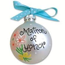 matron of honor ornament home kitchen