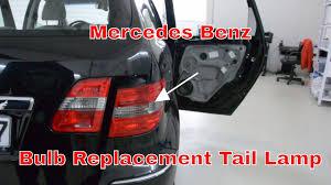 mercedes light replacement mercedes bulb replacement l brake light b series w245