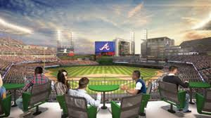 lexus dugout club seats braves hit the sweet spot for premium seats at suntrust park mlb