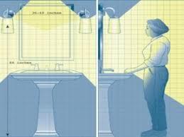 Standard Mirror Sizes For Bathrooms - standard height of bathroom mirror height of bathroom mirror
