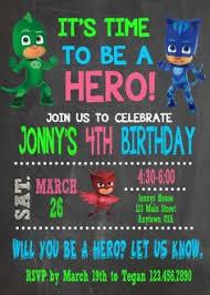 pj masks birthday party ideas supplies party ideas