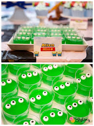 alien jello toy story themed birthday party kara u0027s