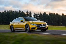 volkswagen arteon 2017 black vw arteon 2017 review by car magazine