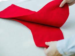 Homemade Christmas Stockings by How To Make A No Sew Felt Stocking Hgtv