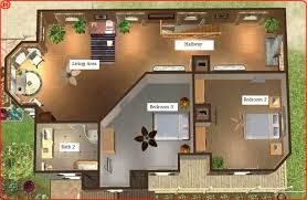 sims 3 modern house floor plans modern house plans sweet looking sims 3 townhouse plans 7 family