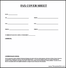 Fax Cover Sheet Template Pdf Basic Fax Cover Sheet 13 How To Write Fax Cover Letter Basic