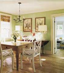 green dining room ideas the green and white and daisies room interior
