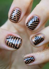 nail art designs using striping tape how you can do it at home
