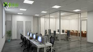 modern u0026 creative 3d commercial office design view yantram