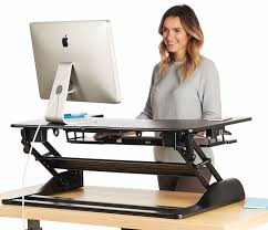 standing desk the deskriser pro height adjustable heavy duty
