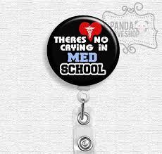 med school gifts retractable badge holder student gift med by pandaloveshop