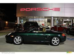 Porsche Boxster 2000 - 2000 rain forest green metallic porsche boxster 1414428 photo 5