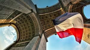 French Flag Background Arc De Triomphe France Flag Places Desktop Hd Wallpaper