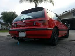 1989 Civic Si This Was The Car Not Actual Car That My Parents Took Me Home In
