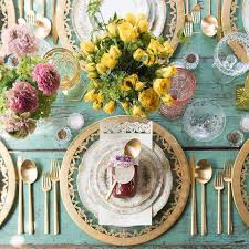 Wedding Table Setting Rustic Reception Table Setting Articles Easy Weddings