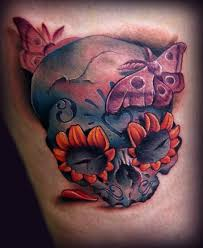 26 best day of the dead skulls tattoo stencils images on