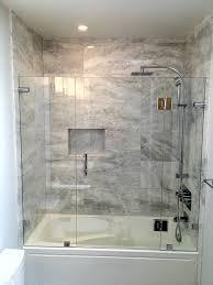 Glass Tub Shower Doors Shower Enclosures Contemporary Bathroom Vancouver By Alto