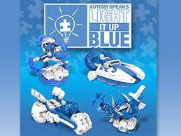 autism speaks light it up blue skylanders will light it up blue for autism awareness month
