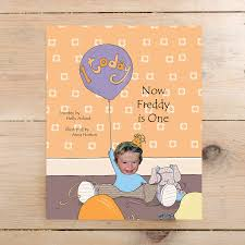1st birthday now name of child is one hardback by itsyourstory