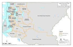 Federal Way Seattle Map by Public Health King County
