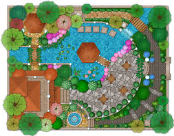 landscape and garden design plan example architecture landscape