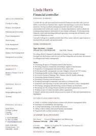 Key Competencies Resume Financial Cv Template Business Administration Cv Templates