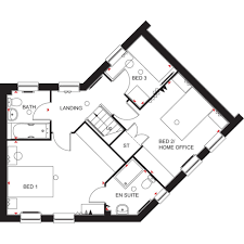 priced at 233 495 with 3 bedrooms detached house plot 3
