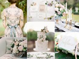 Vintage Garden Wedding Ideas Vintage Garden Wedding In Grayed Jade And Blush Decor Advisor
