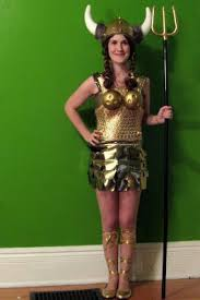 Valkyrie Halloween Costume Maud Costume Dream Sequence Big Lebowski Halloween