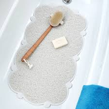 non slip bathtub mats bathroom accessories cloud bathtub mat with