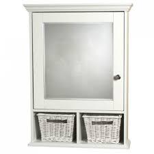 medicine cabinet with wicker baskets white surface mount medicine cabinet with wicker baskets white