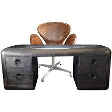 Black Desk And Chair Viyet Designer Furniture Storage Restoration Hardware