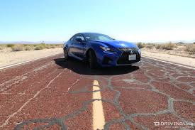 lexus sports car review the mad dash to vegas in a lexus rc f drivingline