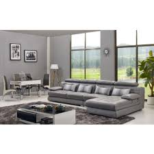 Flexible Sofa A331 China Modern L Shape Leather Sofa Sets With Flexible Pillows