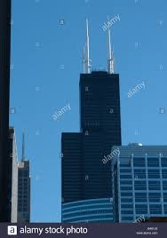 Sears Tower by Sears Tower Seen From Chicago River Sears Tower Is The Tallest