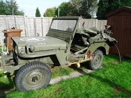 willys jeep jeep ex swiss army 1949